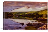 Loch Long Scotland, Canvas Print