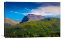 Ben Nevis Scotland, Canvas Print