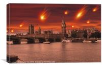 The End of the World, Canvas Print