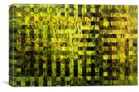 Woven Grass Abstract, Canvas Print