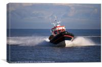 Caister Volunteer Lifeboat, Canvas Print