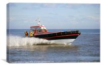 Caister Lifeboat, Canvas Print