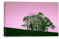 Hilhouette, Canvas Print