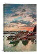 ROOH-Harbour studies 013, Canvas Print