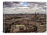 London Skyline 2, Canvas Print