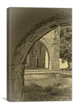 Arches of old Rethymnon, Canvas Print