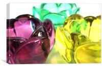 Glass Flowers, Canvas Print