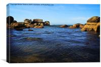 Brittany Coast, Canvas Print
