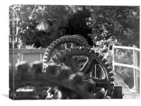 Thoop Mill Cogs, Canvas Print
