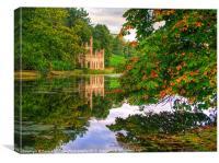 Painshill Park - Autumn Reflections, Canvas Print