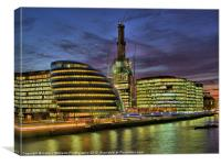 The Shard - Half Way There !, Canvas Print