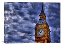 Big Ben London, Canvas Print