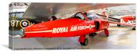 Red 3 Cosford, Canvas Print