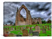 Bolton Abbey The Ruins, Canvas Print