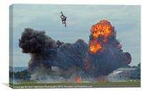 Tornado GR4 Role Demo - Dunsfold 2012, Canvas Print