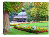 The Valley Gardens - Harrogate, Canvas Print