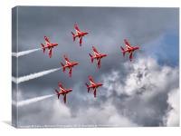 7 Arrow Dunsfold 2012, Canvas Print