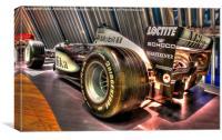 McLaren Mercedes F1 Mika Hakkinen, Canvas Print