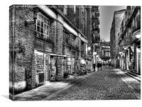 Shad Thames 2 - London, Canvas Print