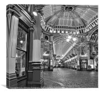 The Dome - Leadenhall Market, Canvas Print