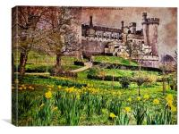 Spring At Arundel Castle, Canvas Print