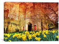 The Gateway - Arundel Castle, Canvas Print