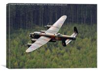 Dambusters 70 Years On - The Derwent Dam 1, Canvas Print