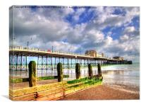 Worthing Pier 1, Canvas Print