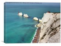 The Needles - Isle of Wight, Canvas Print