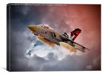 Storming 2 !! Tornado GR4 617 Squadron, Canvas Print