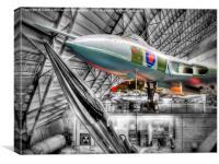Avro Vulcan B2, Canvas Print