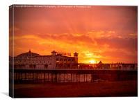 Big Sky - Brighton Pier, Canvas Print