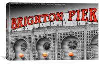 Brighton Pier Sc 2, Canvas Print