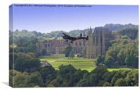 Lancaster and Lancing College Chapel , Canvas Print