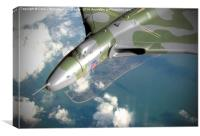 Vulcan Over Wittering !, Canvas Print