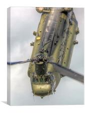 RAF Odiam Display Chinook 1 - Dunsfold 2014, Canvas Print
