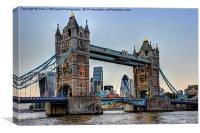 Tower Bridge And The City 2, Canvas Print