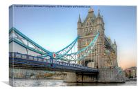 Tower Bridge From Butlers Wharf 2, Canvas Print