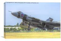 Vulcan Takes to the Sky - Farnborough 2014, Canvas Print