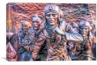 Battle Of Britain Monument 2 - The Embankment, Canvas Print