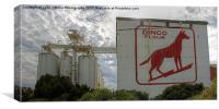 Dingo Flour - Fremantle - WA, Canvas Print