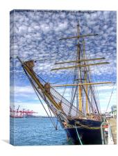 The Port of Fremantle WA, Canvas Print