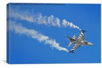 Lockheed Martin F-16A Fighting Falcon Riat 2015 3, Canvas Print