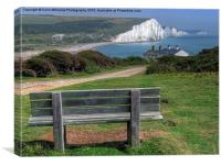 Seven Sisters The View, Canvas Print