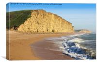 West Bay Dorset  Broadchurch 1, Canvas Print