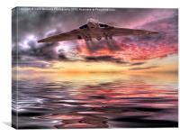 Vulcan Farewell, Canvas Print