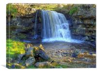 East Gill Force, Keld, Yorkshire Dales, Canvas Print