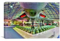 Vulcan and Bombs - R.A.F. Museum Hendon 2, Canvas Print