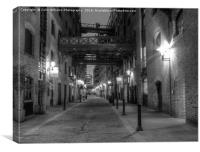 Shad Thames and Butlers Wharf London, Canvas Print