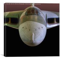 The Avro Vulcan, Canvas Print